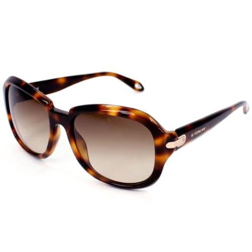 Очки Givenchy с леопардовой оправой, фото