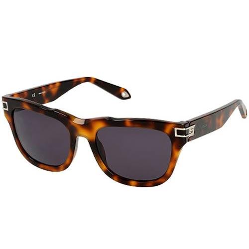 Очки Givenchy с толстой леопардовой оправой, фото