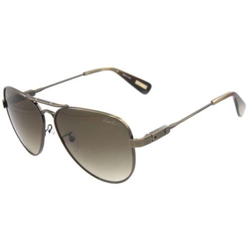 Очки Lanvin мужские металлические серого цвета, фото