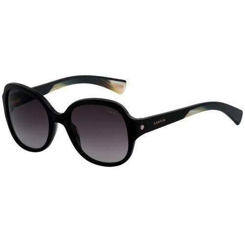 Очки Lanvin круглые черного цвета, фото