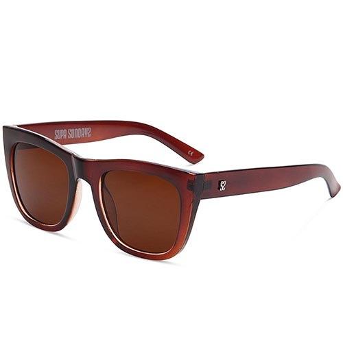 Солнцезащитные очки Supasundays Ube Toffee Brown, фото
