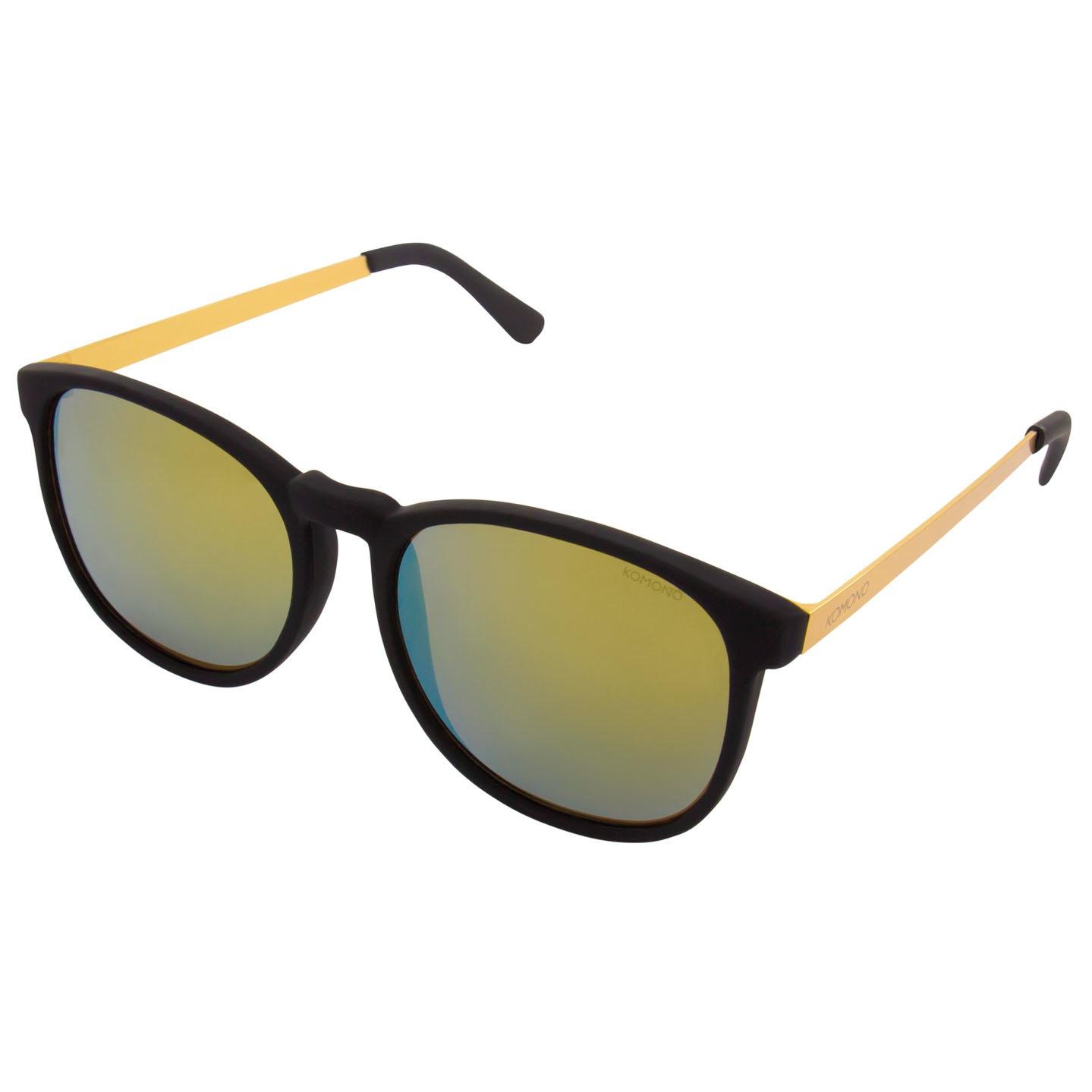 Солнцезащитные очки Komono Urkel Metal Black Gold