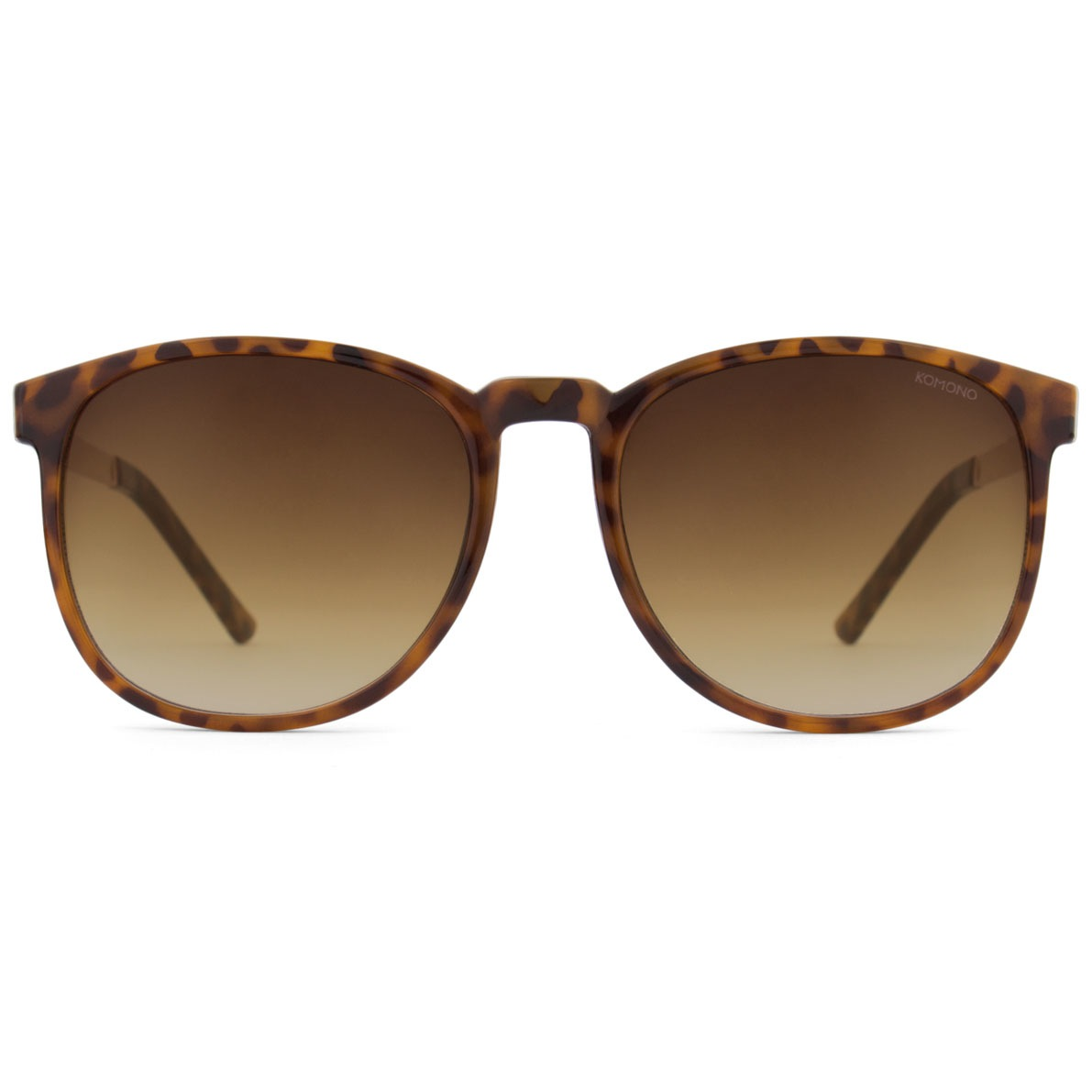 Солнцезащитные очки Komono Urkel Metal Series Tortoise Rose Gold