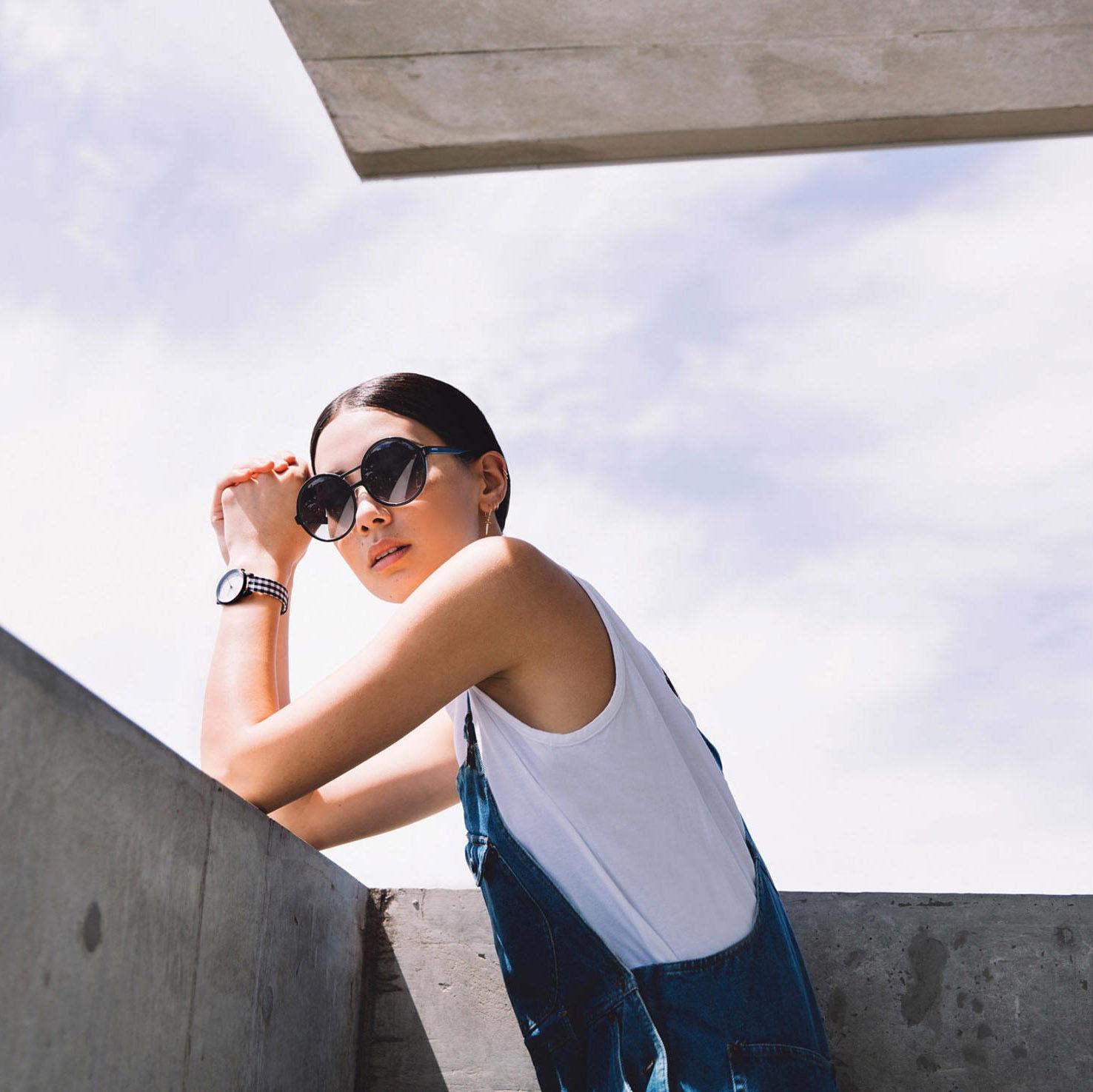 Солнцезащитные очки Komono Coco Black Silver