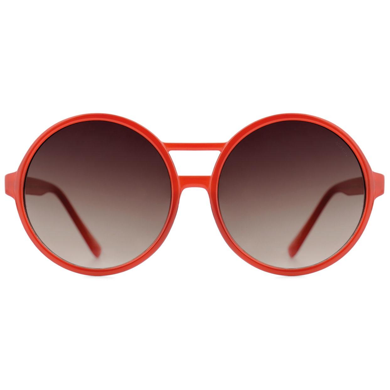 Солнцезащитные очки Komono Coco Milky Red