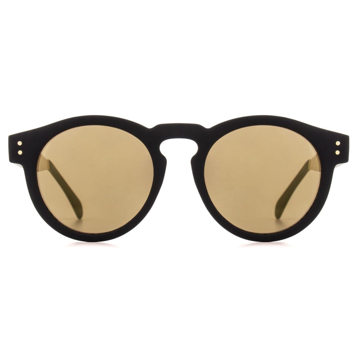 Солнцезащитные очки Komono Clement Metal Black Gold