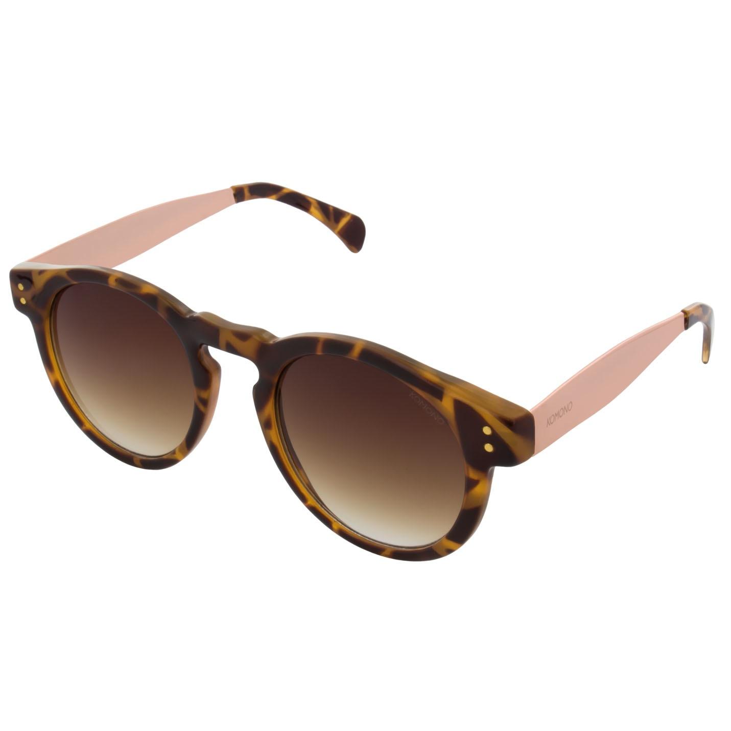 Солнцезащитные очки Komono Clement Metal Series Tortoise Rose Gold
