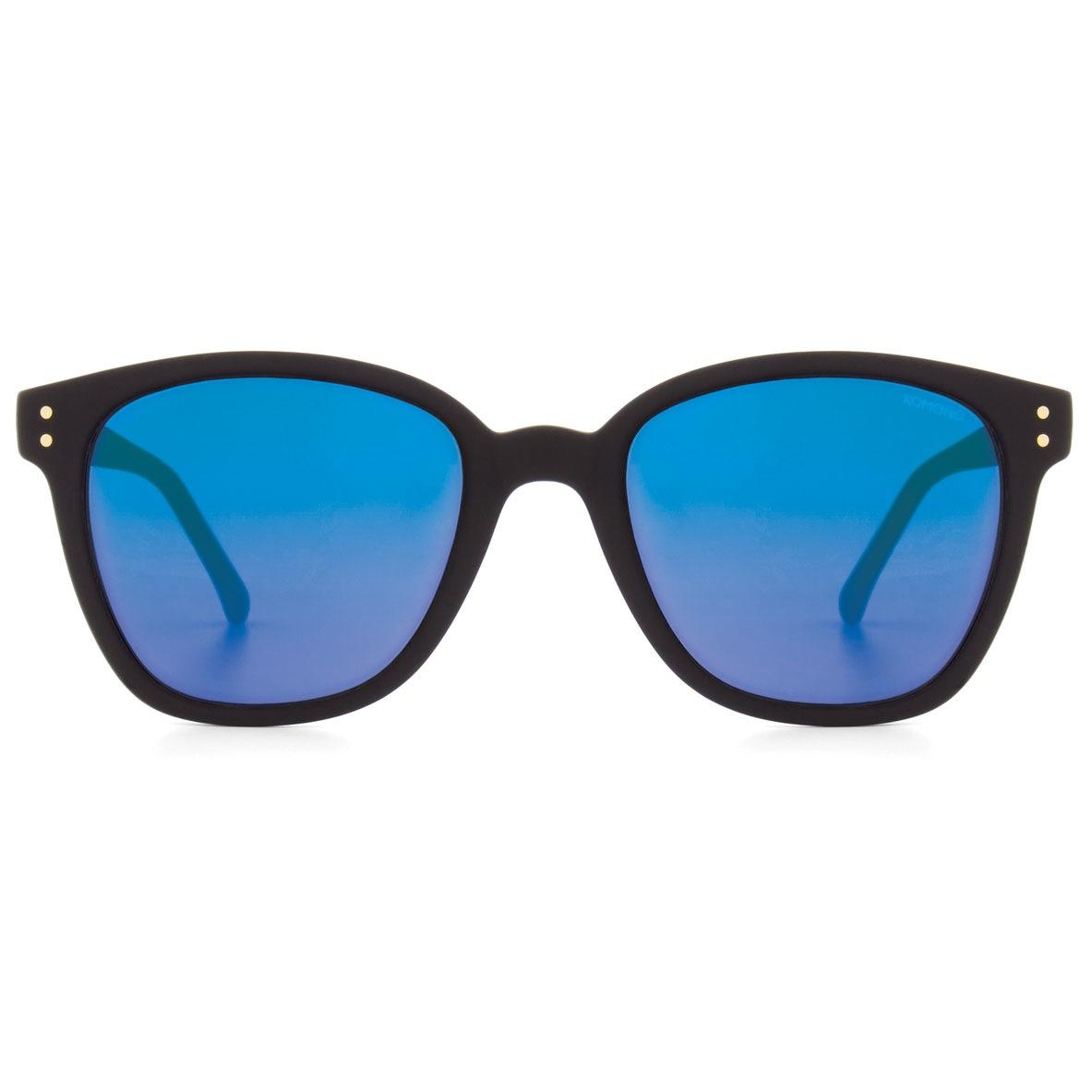 Солнцезащитные очки Komono Renee Black Rubber Blue Mirror