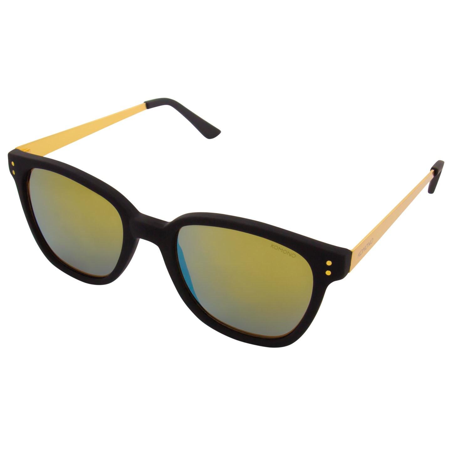 Солнцезащитные очки Komono Renee Metal Black Gold