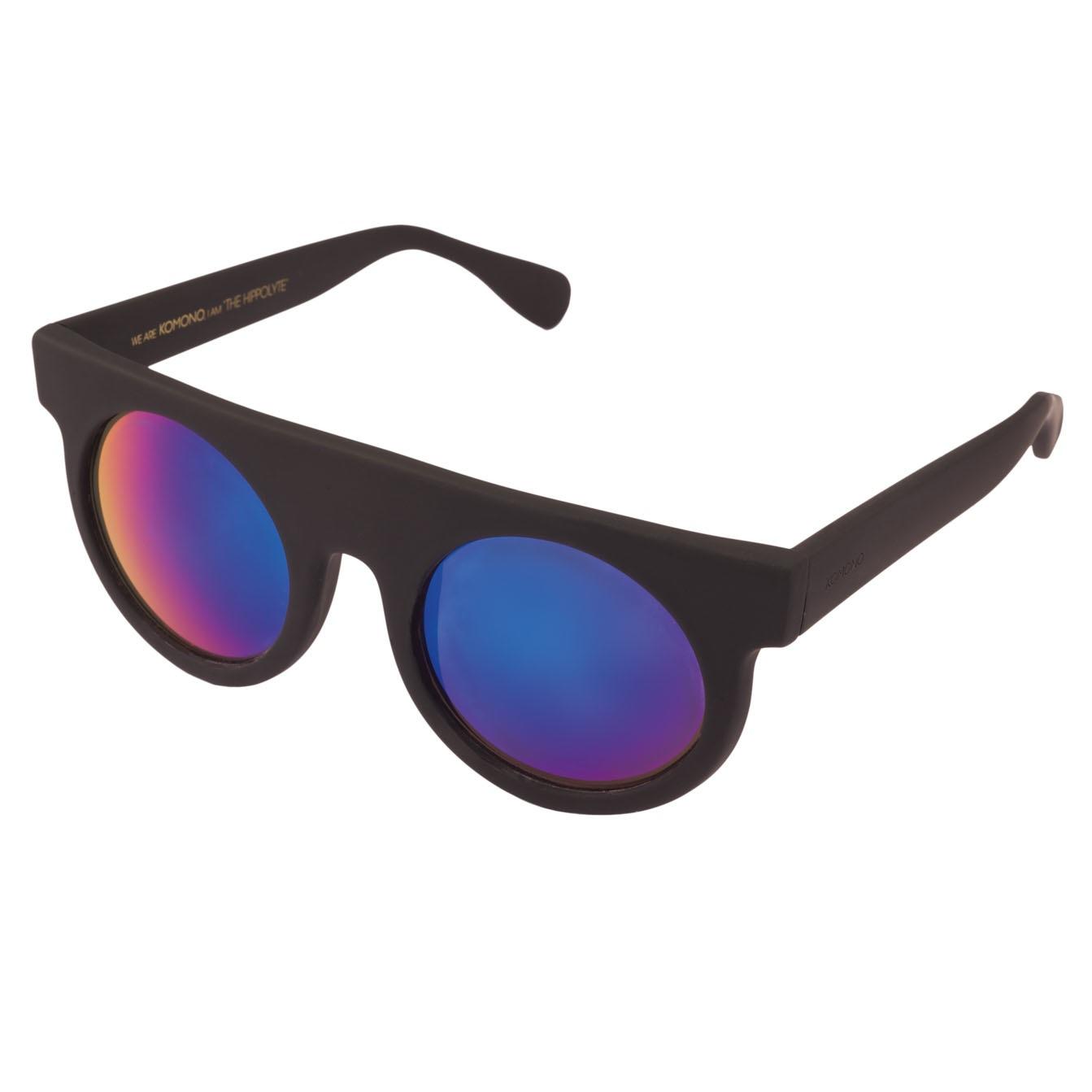 Солнцезащитные очки Komono Hippolyte Black Rubber