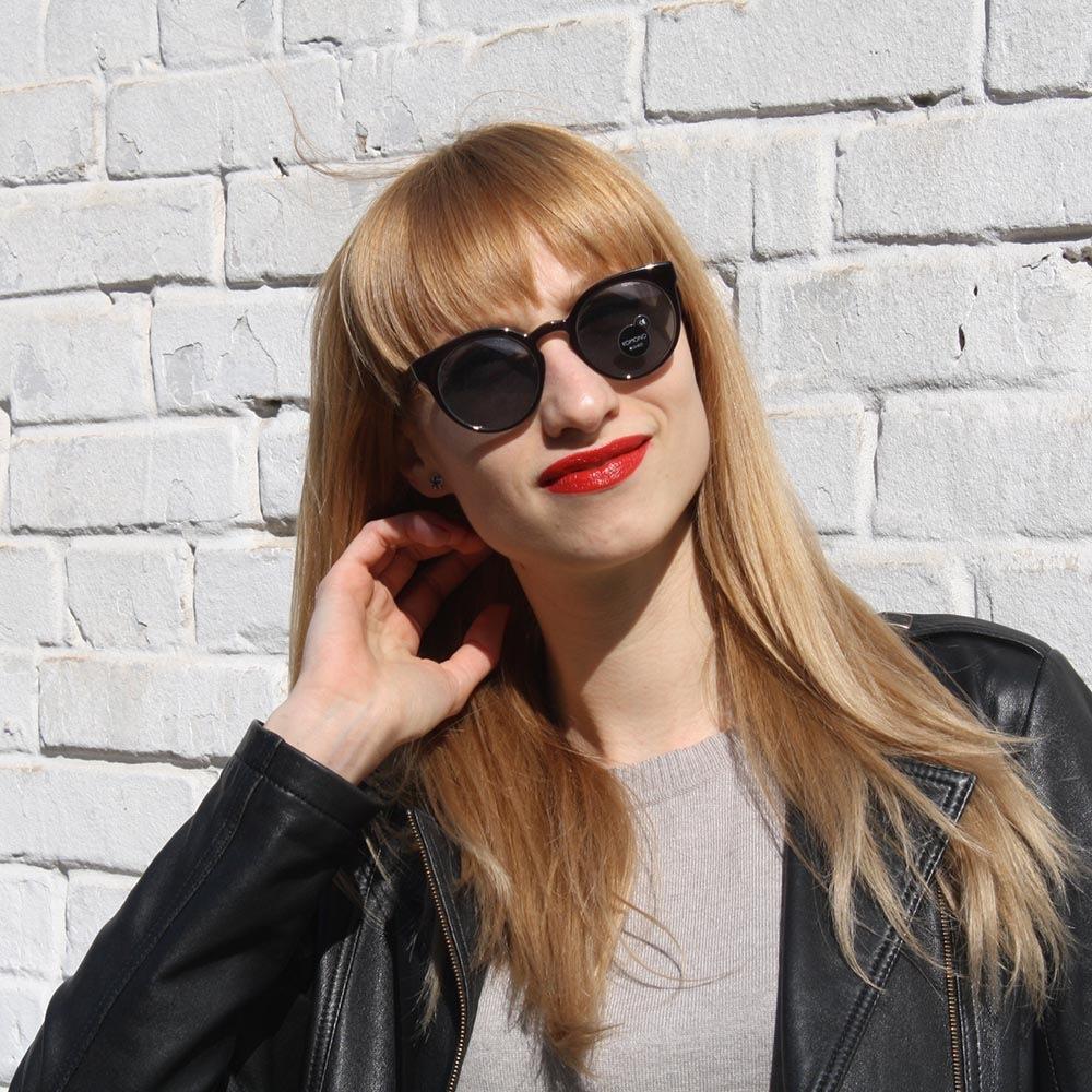 Солнцезащитные очки KOMONO Lulu BlackJade