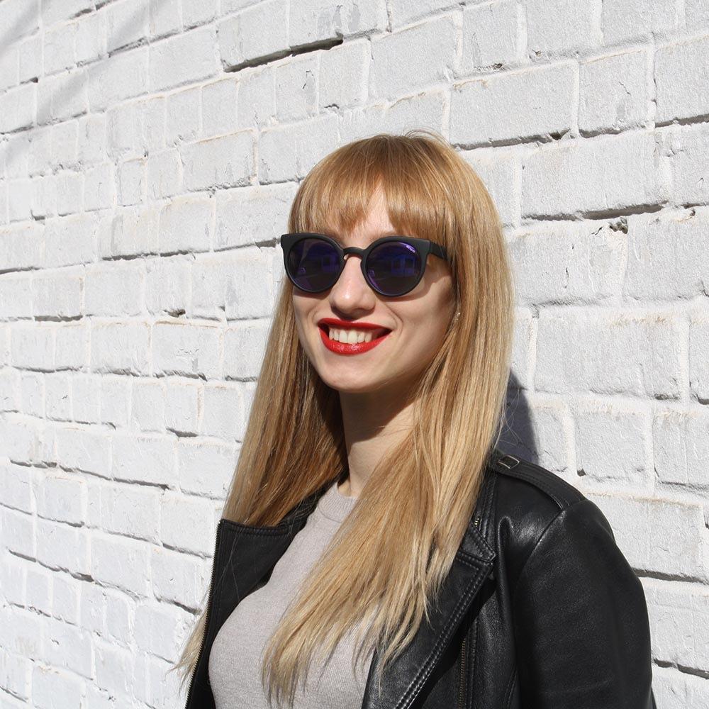 Солнцезащитные очки KOMONO Lulu BlackRubber
