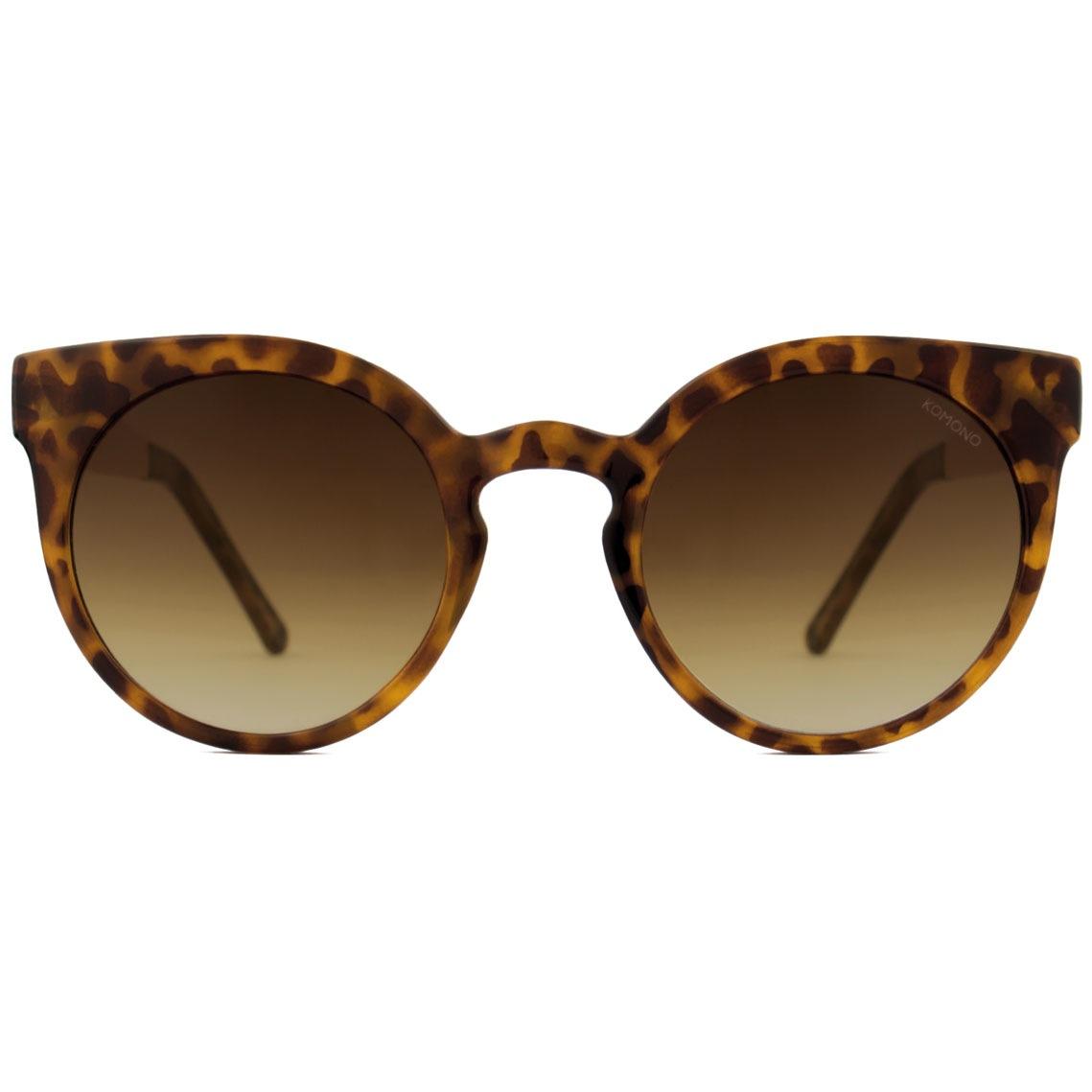 Солнцезащитные очки Komono Lulu Metal Series Tortoise Rose Gold