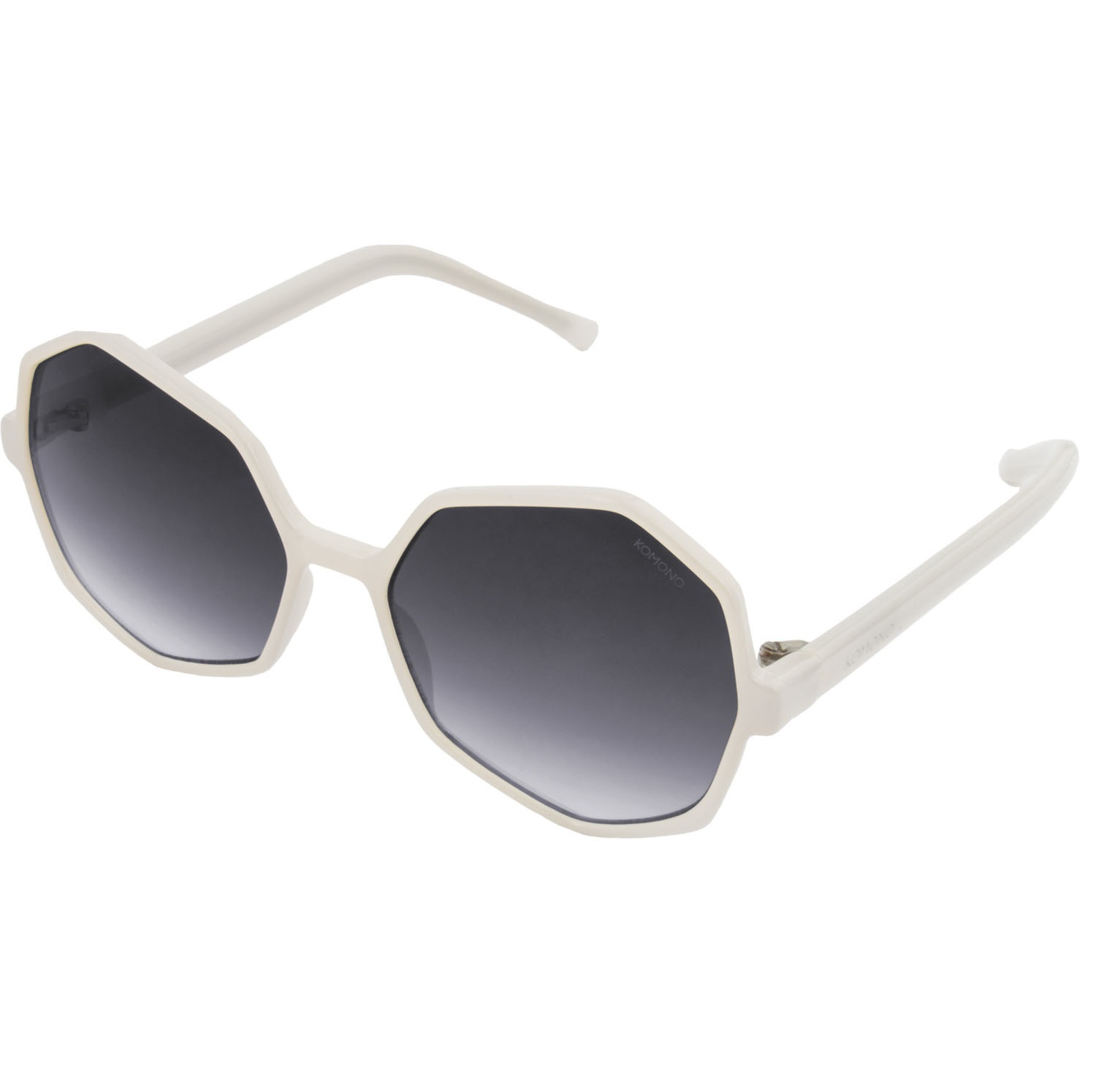 Солнцезащитные очки Komono Bonnie Milky White