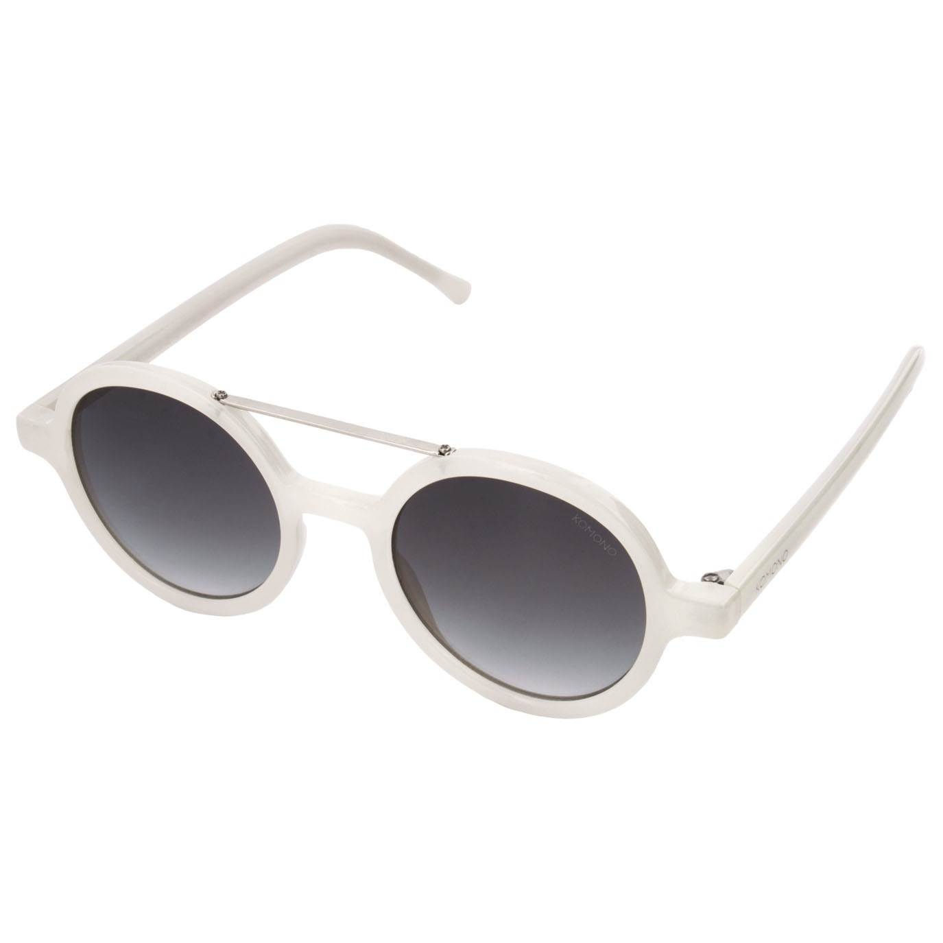 Солнцезащитные очки Komono Vivien Milky White
