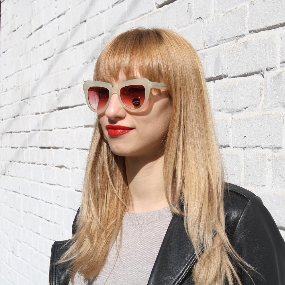 Солнцезащитные очки KOMONO Stella Pale Blush