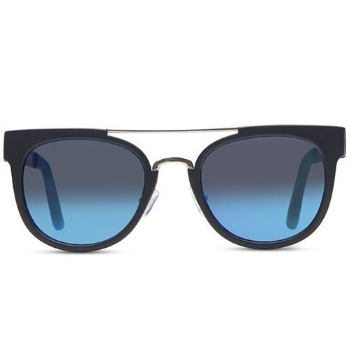 Солнцезащитные очки Supasundays Nihilism Grey with Blue Mirror