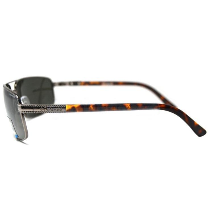 Очки мужские Polaroid Contemporary поляризационные с дужками заушников под черепаховую кость