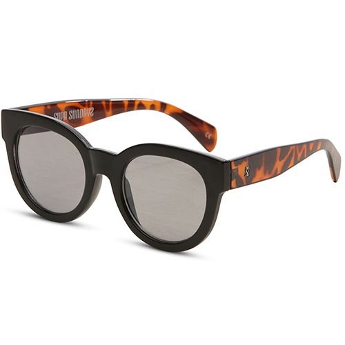 Солнцезащитные очки Supasundays Velvet Crush Gloss Black