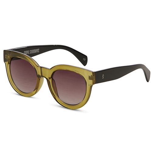 Солнцезащитные очки Supasundays Velvet Crush Ivy Green