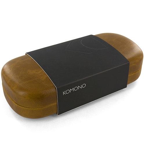 Солнцезащитные очки Komono Urkel Metal Black Gold, фото