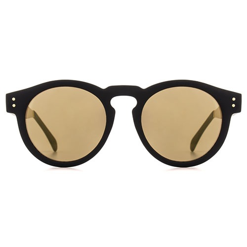 Солнцезащитные очки Komono Clement Metal Black Gold, фото