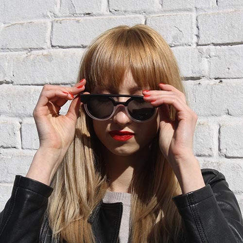 Солнцезащитные очки KOMONO Dreyfuss Matte Black transparent, фото