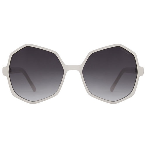 Солнцезащитные очки Komono Bonnie Milky White , фото