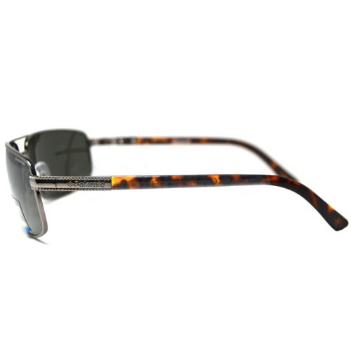 Очки мужские Polaroid Contemporary поляризационные с дужками заушников под черепаховую кость, фото