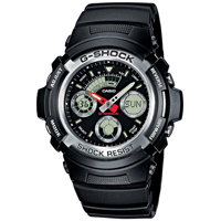 Часы Casio G-Shock AW-590-1AER, фото
