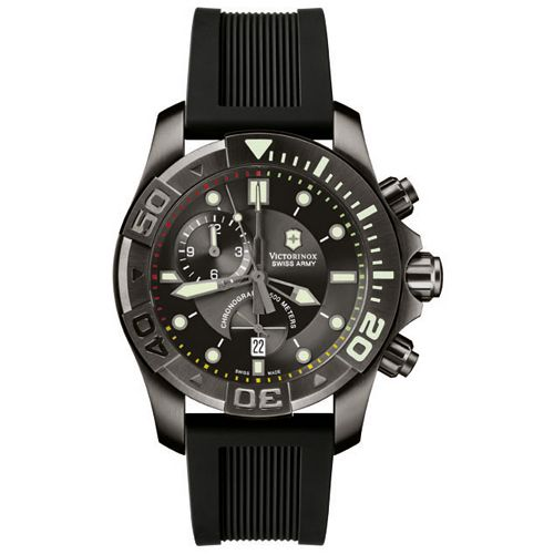 Часы Victorinox Swiss Army Dive Master 500 Black Ice Chrono V241421 , фото