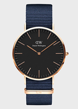 Часы Daniel Wellington Classic Black Bayswater DW00100277, фото