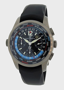 Часы Girard-Perregaux WWTC Financial Chrono 49805.21.654.FK6A, фото