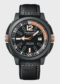Часы JeanRichard Diverscope  60130-28-60B-AA6D, фото