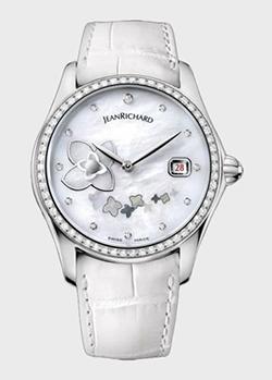 Часы JeanRichard Bressel Lady small seconds 61143-D11-A71A-AA7D, фото