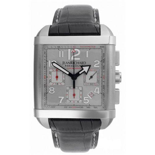 Часы JeanRichard Paramount square chrono 65118-11-10A-AA6D, фото