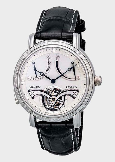 Часы Maurice Lacroix Masterpiece Tourbillon Retrograde MP7088-PL201-110, фото