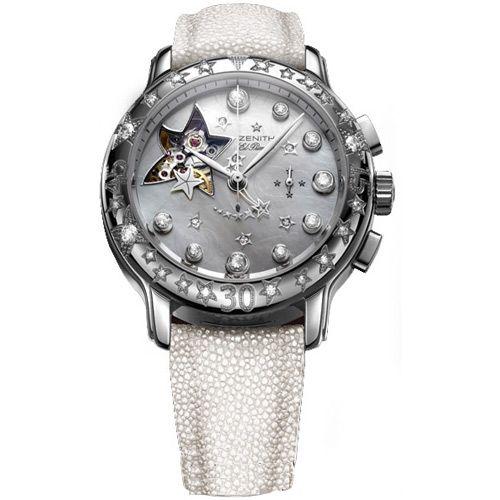 Часы Zenith Star Sea Open El Primero Precious Diamonds 45.1233.4021-80.c632, фото