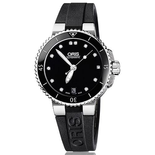 Часы Oris Divers Date Lady Diving 733.7652.41.94 RS, фото