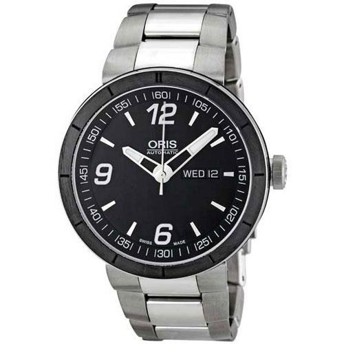 Часы Oris TT-1 Day Date  Motor Sport 735.7651.41.74 MB, фото