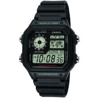 Часы Casio Standard Digital AE-1200WH-1AVEF, фото