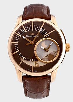 Часы Maurice Lacroix Pontos Decentrique GMT PT6118-PG101-731, фото