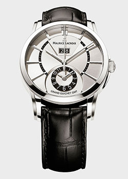 Часы Maurice Lacroix Pontos Grand Guichet GMT PT6208-SS001-130, фото