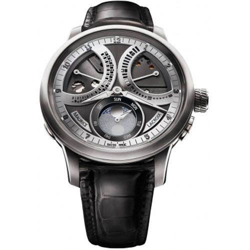 Часы Maurice Lacroix Masterpiece Calendrier Retrograde MP7278-SS001-320, фото