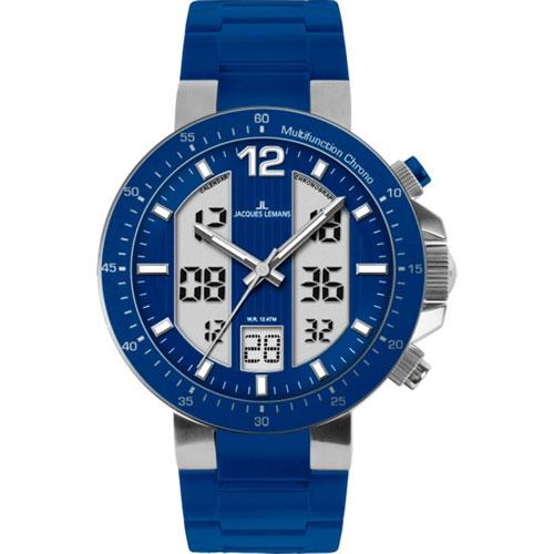 Часы Jacques Lemans Milano XXL Digital 1-1726C, фото