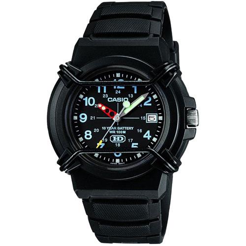 Часы Casio Standard Analogue HDA-600B-1BVEF, фото