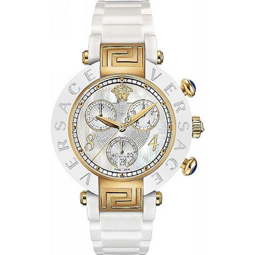 Часы Versace Reve Ceramic Chrono Vr95ccp1d497 sc01 на керамическом браслете, фото