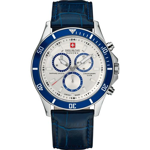 Часы Swiss-Military Hanowa Flagship Chronograph 06-4183.04.001.03, фото