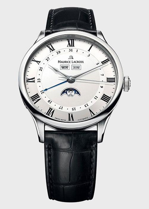 Часы Maurice Lacroix Masterpiece Phase de Lune MP6607-SS001-112, фото
