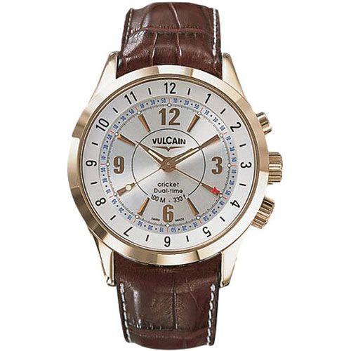 Часы Vulcain Aviator GMT 100505.021L, фото